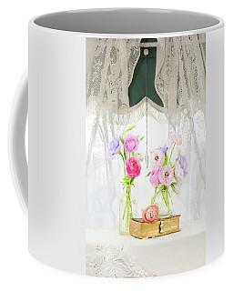 Ranunculus In Window Coffee Mug