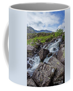 Rapids Of Snowdonia Coffee Mug by Ian Mitchell
