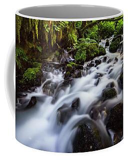Rapids On Wahkeena Creek Coffee Mug