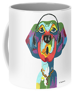 Rapping Rover - Funny  Dog Coffee Mug