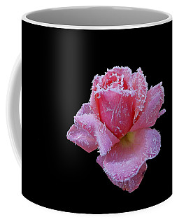 Rare Winter Rose Coffee Mug