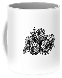 Raspberries Image Coffee Mug