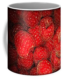 Raspberries Coffee Mug by Sylvie Leandre