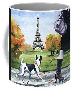 Rat Terrier In Paris Coffee Mug