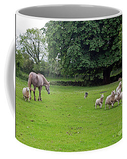 Rounding Up The Sheep Coffee Mug