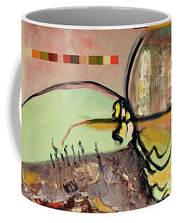 Rational Thought Begins Here Coffee Mug by Paul McKey