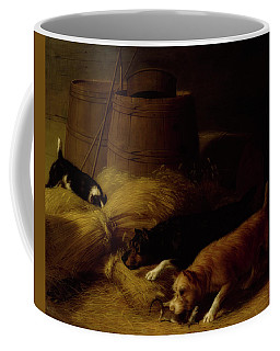 Rats Amongst The Barley Sheaves Coffee Mug