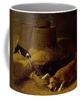 Rats In The Barley Sheaves Coffee Mug