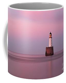 Rattray Head Lighthouse At Sunset - Pink Sunset Coffee Mug