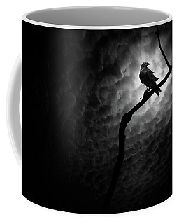 Raven, Death Valley Coffee Mug by Marius Sipa