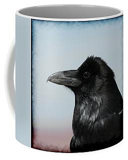 Raven Profile Coffee Mug