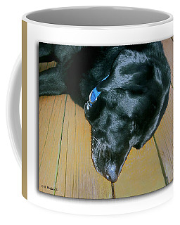 Raven Resting Coffee Mug by Brian Wallace