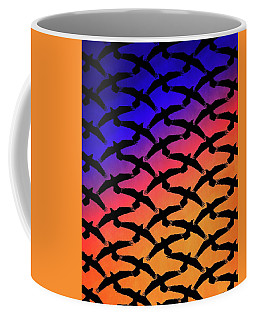 Coffee Mug featuring the digital art Raven Sky by Timothy Bulone