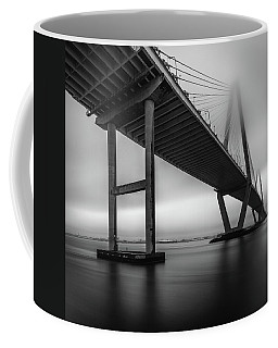 Ravenel Bridge November Fog Coffee Mug