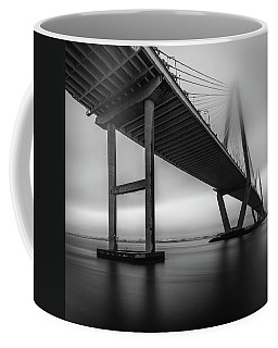 Ravenel Bridge November Fog Coffee Mug