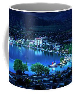 Coffee Mug featuring the photograph Raven's Eye View by John Poon