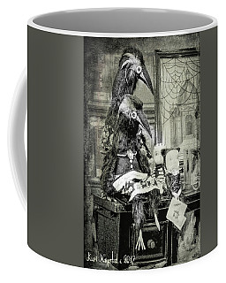 Ravens For Halloween Coffee Mug