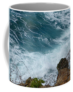 Raw Blue Power Coffee Mug