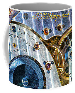 Coffee Mug featuring the photograph Raymond's Watch by Darren White