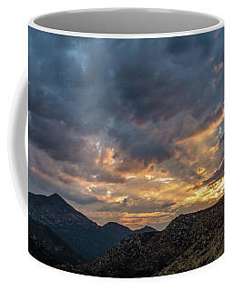 Rays Above Tecate Peak Coffee Mug