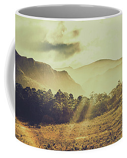 Rays Of Dusk Coffee Mug