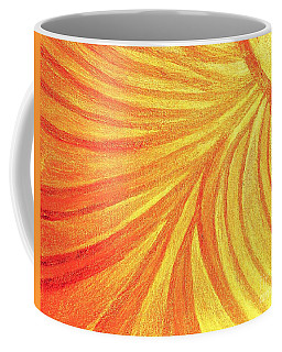 Rays Of Healing Light Coffee Mug by Rachel Hannah