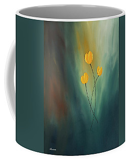 Coffee Mug featuring the painting Rays Of Hope by Carmen Guedez