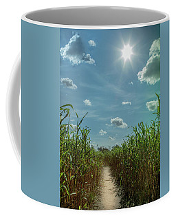 Coffee Mug featuring the photograph Rays Of Hope by Karen Wiles
