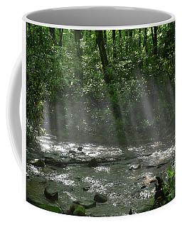 Rays Through The Trees Coffee Mug