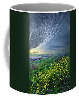 Reach For The Heavens And Hope For The Future Coffee Mug