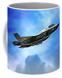 Coffee Mug featuring the photograph Reach For The Skies by Chris Lord
