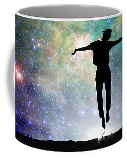 Coffee Mug featuring the photograph Reach For The Stars by Delphimages Photo Creations