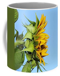 Reaching Sunflower Coffee Mug