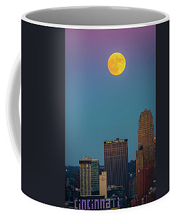 Coffee Mug featuring the photograph Reaching For The Moon by Randall Branham