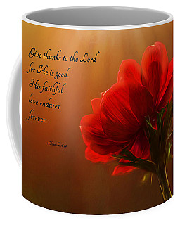 Coffee Mug featuring the photograph Reaching Inspiration by Mary Jo Allen