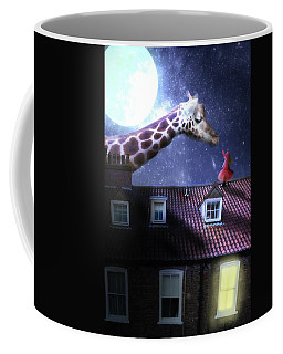 Reaching Out Coffee Mug by Nathan Wright