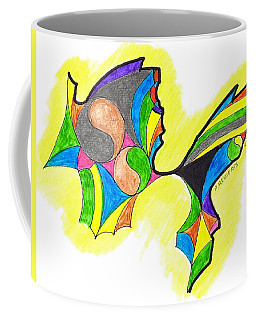 Reaching Out Coffee Mug by Paul Meinerth