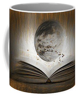Read The Mind Of The Bird Coffee Mug by Sir Josef - Social Critic -  Maha Art