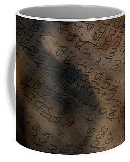 Reading Between The Lines Coffee Mug