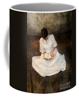 Reading  Coffee Mug by Jill Battaglia
