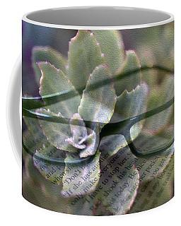 Reading Plants Coffee Mug