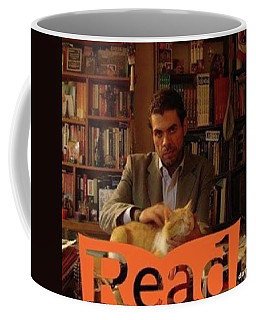 Read  National Readathon Coffee Mug by David Cardona