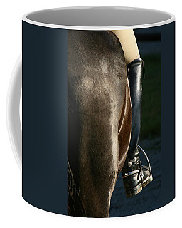 Coffee Mug featuring the photograph Ready by Angela Rath