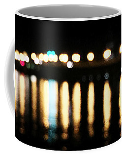 Coffee Mug featuring the photograph Bridge Of Lions -  Old City Lights by LeeAnn Kendall