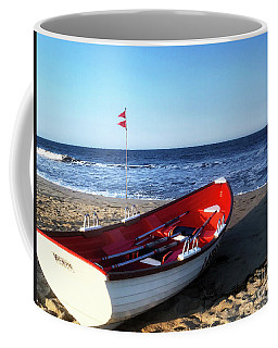 Coffee Mug featuring the photograph Ready To Row by Rick Locke