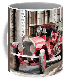 Coffee Mug featuring the photograph Ready To Serve Again by Wilma Birdwell