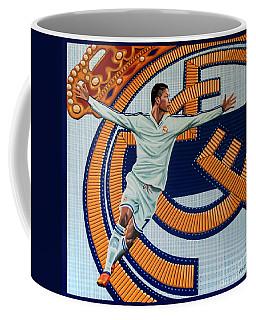 Real Madrid Painting Coffee Mug