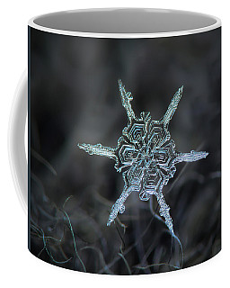 Real Snowflake Photo - The Shard Coffee Mug