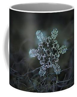 Real Snowflake - Slight Asymmetry New Coffee Mug