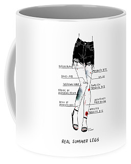 Real Summer Legs Coffee Mug
